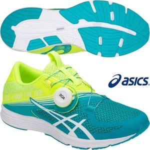 ASICS Gel 451 Women's Shoes Flash Yellow/Lagoon